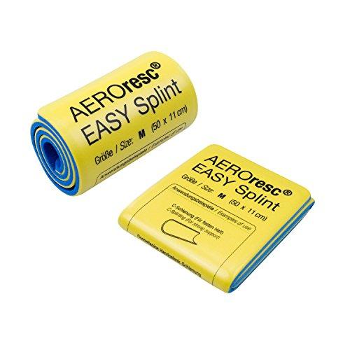 AeroResc Easy Splint Universalschiene klein 50cm x 11cm Splintschiene Rettungsschiene (Gerollt)