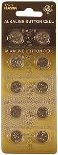 Alkaline Button Batteries, Case Pack of 1000