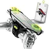 """Bone Collection Pro 4 (4ª Gen) Soporte Movil Bicicleta Compatible Reconocimiento Facial, Montaje en Potencia Smartphones Pantalla 4,7' - 7,2"""", Soporte Móvil Bici Ultra Ligero, Bicis de Carretera"""