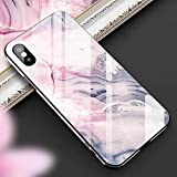Cocomii Fancy Glass Marble Armor iPhone 6S/6 Funda Nuevo [Mármol Granito Abstracto] Pintura Al Óleo De Borde A Borde HD Patrón Vivo Recuadro Rectangular Case for Apple iPhone 6S/6 (FG.Dream Pink)