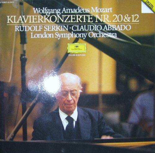 Mozart: Klavierkonzerte Nr. 20 & 12 [Vinyl LP] [Schallplatten]