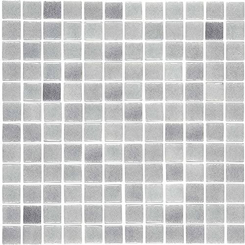 e-ceramica 8436028840557 Mosaico Cristal Gris