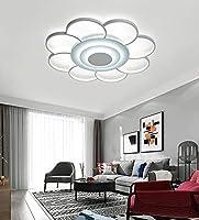 モダンなミニマリストスタイル、スマートシーリングランプ、装飾、照明、LEDシーリングランプ、アクリル素材、50 * 6 cm、寝室、書斎