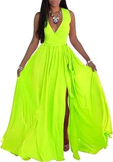 Best neon long dress Reviews