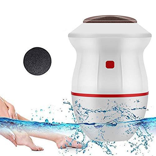 HJHY Détacheur de callus électrique rechargeable – Éliminateur de callosités électrique – Outil de pédicure pour les peaux dures, fissurées, sèches – #