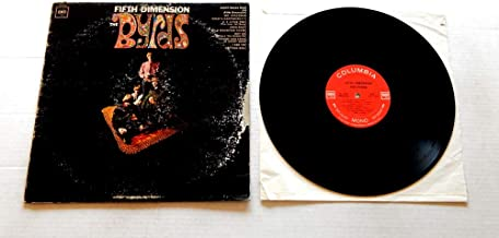 The Byrds FIFTH DIMENSION - Columbia Records 1966 - USED Vinyl LP Record - 1966 MONO Pressing CL 2549 - Mr. Spaceman - 5D - Eight Miles High - Hey Joe - Captain Soul