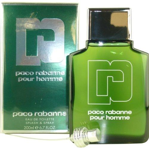 Paco Rabanne Pour Homme Eau De Toilette Splash & Spray 200ml/6.7oz - Parfum Herren