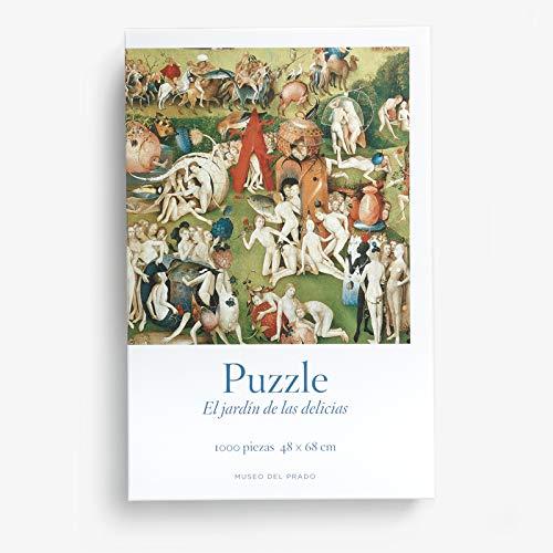 """Puzzle """"Tríptico del Jardín de las delicias"""", del Bosco"""