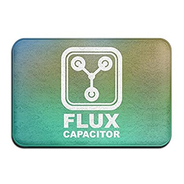 Lionkin8 Back To The Future Flux Capacitor Turquoise Indoor/Outdoor/Bathroom Mats 24x16 Inch
