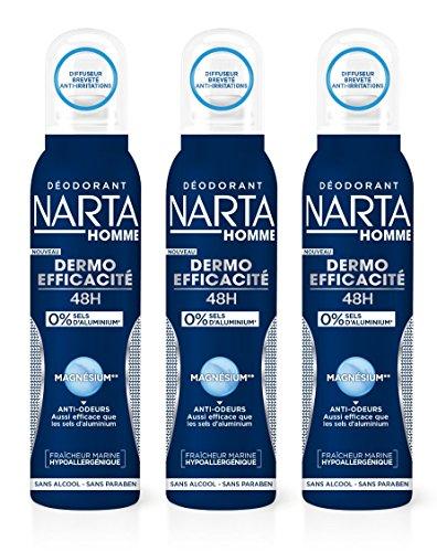 pas cher un bon NARTA Magnesium Protect Deodorant Sprayman Skin Efficiency, No Synthetic Antiperspirant,…