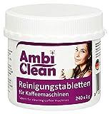 AmbiClean Reinigungstabletten für Kaffeevollautomat und Kaffeemaschine | für Privat, Büro und...