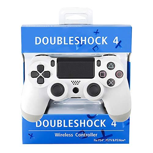 Controlador inalámbrico para PS4 Joystick Gamepad Console PS Bluetooth Wireless USB-kabelverbinding para Playstation 4 con Dual Shock Touch Panel Audio Jack y Six-Axis