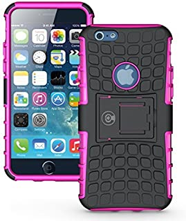 iPhone 6 Case, iPhone 6s Case Wallet Thin - iPhone 6s Case [Clear Speck Series] - iPhone 6s Case for Girls, Boys, Men, Women - Ultra Protector with Raised Screen Edge - iPhone 6 Cover (Pink)