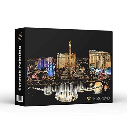 Scratch Painting - Las Vegas
