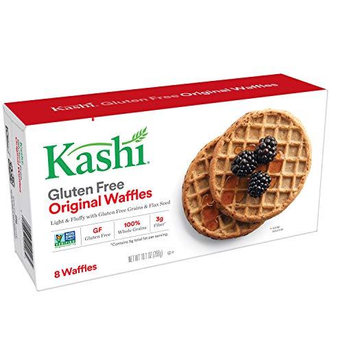 Kashi, Frozen Waffles, Original, Gluten Free, 10.1oz Box