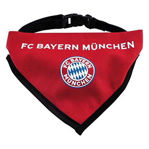 FC Bayern München - Hunde Halstuch - FCB Logo rot, Hundehalstuch