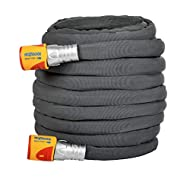 Up to 50% lighter compared to traditional hoses Kink free & easy to manoeuvre Super tough and durable Made with Tuff-Fibre Durable Woven Fibre Technology
