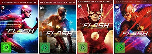 The Flash Staffel 1-4 (1+2+3+4) DC Serie [DVD Set]