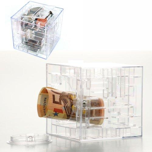 Geldlabyrinth - Money Maze - Geldgeschenke verpacken - Spardose Labyrinth