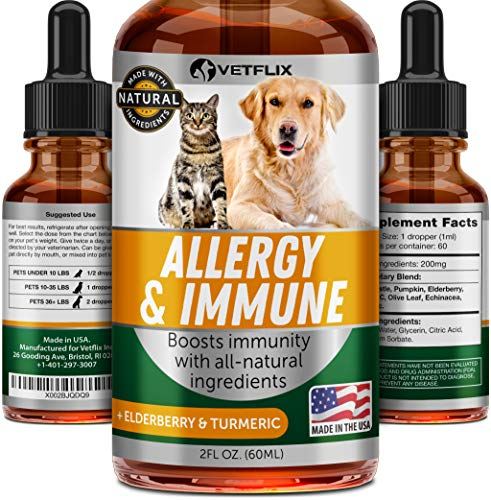 Vetflix Herbal Pet Supplement for Immune System Support