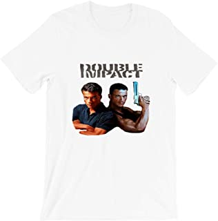Twin Impact Blood Sport Movie Action Retro 90s Kick Boxer Hard Target Vintage Gift Men Women Girls Unisex T-Shirt