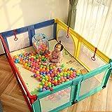 Hfyg Parque Parque Infantil Pelota Baby Play Yard Carpas Valla de Seguridad Infantil for Interiores for Bebés Y Niños Pequeños Unisex (Size : 120x120cm)