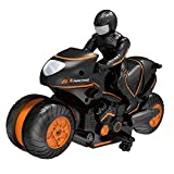 Dreameryoly Télécommande Moto 360 degrés Rotation Hors Route dérive Voiture d'escalade 2.4G Rechargeable