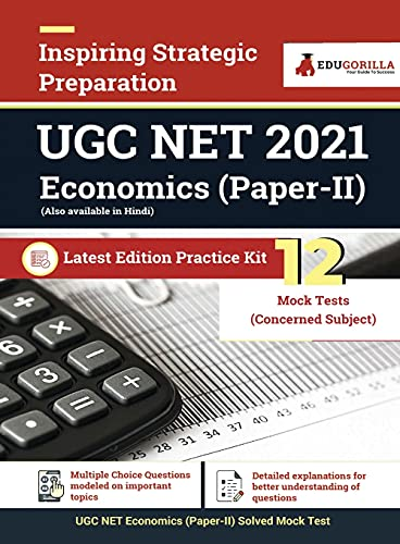 NTA UGC NET Economics Paper II Exam 2021 | 15 Days Preparation Kit : 12 Mock Tests with Complete Solution | Latest Edition Practice Kit
