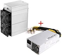 Antminer Z11j 105K Sol/s Zcash ZEC Equihash Miner Include APW7 1800W PSU