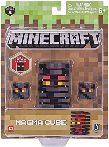 Minecraft Figure Pack, Color, Magma Cube