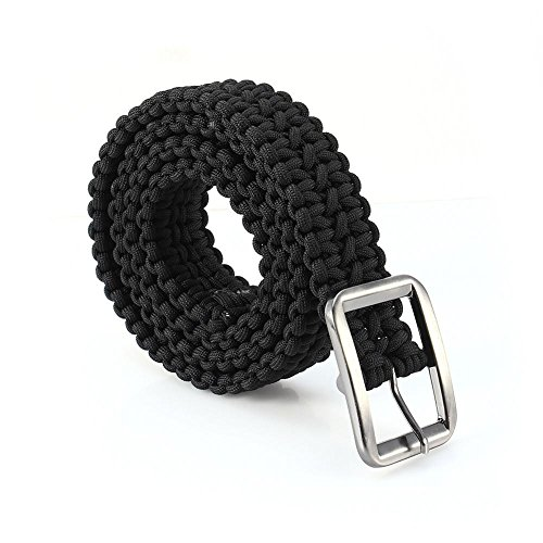 Paracord Keychain avec mousqueton 7-brin Poly cordon Outdoor Survival Key Chain