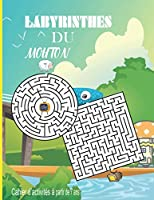 Labyrinthes du mouton: 39 labyrinthes avec solutions - La couverture de ce carnet existe en deux exemplaires adultes et enfants - Livre de jeux / cahier d'activités anti-stress - Améliore la mémoire, la concentration et la rapidité - Idéal comme cadeau