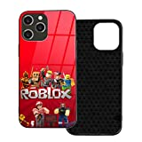 R-O-B-L-O-X for iPhone 12 /12Mini / Pro/Pro Max Case Shockproof Protection Cover,which is Stylish and TPU Plastic Case Cover,Built-in Screen Protector Cover Iphone12-6.1