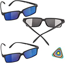 Shop Zoombie Spy Glasses with Rear View Mirror Vision to See Behind You - 3 PK and 1 Triangle Eraser - Easter Basket, Stoc...