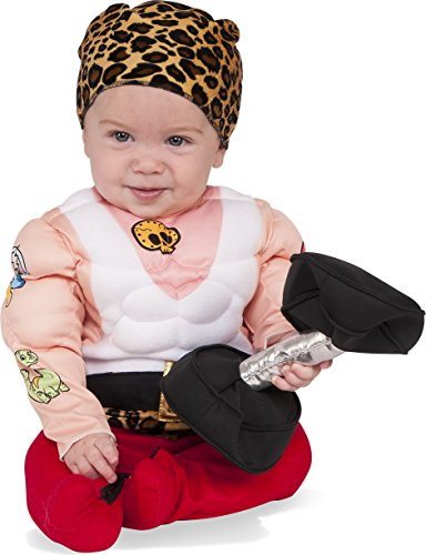 Rubie's Baby Muscleman Costume, Multicolor, Infant
