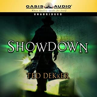 Showdown     The Books of History Chronicles, Paradise Series, Book 1              By:                                                                                                                                 Ted Dekker                               Narrated by:                                                                                                                                 Kevin King                      Length: 12 hrs and 47 mins     247 ratings     Overall 4.2