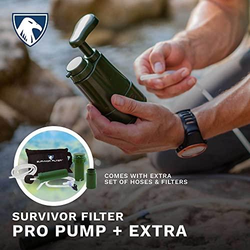 Survivor Filter PRO Extender Series, Extra Filters