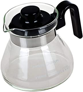 SGerste Coffee Server Pot Decanter Coffee Maker Pot Carafe Glass Drip with Spout