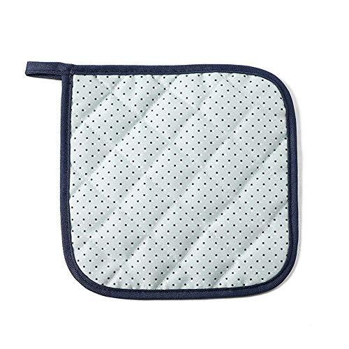 OUY Gaming Chair Massage Startseite Stoff Isolierung Pad Tischset Coaster Schüssel Pad Pot Platte Anti-heißen Pad Heat Resistant Extra gepolsterter Bürostuhl (Color : Fresh, Size : 18x18cm)