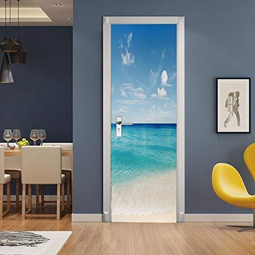 3D Mural puerta Fondo pantalla cristal poster paisaje armario Decoración Hogar Vinilo...