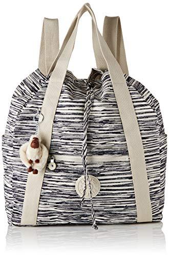 Kipling Art Backpack M Rucksack, 41 cm, 19 L, Scribble Lines