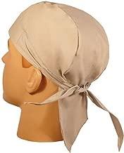 Skull Cap Biker Caps Headwraps Doo Rags - Light Grey