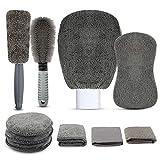 Autopflege Reinigung Set Mehrzweck-Reinigungstüchern Reinigungstuch Set 10 PCS Unfassbare Saugkraft...