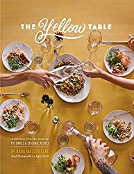 the yellow table cookbook for entertaining