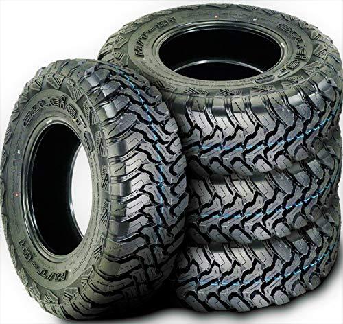 Set of 4 (FOUR) Accelera M/T-01 Mud Off-Road Light Truck Radial Tires-35X12.50R17LT 35X12.50X17...