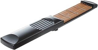 SODIAL ポケットストリングギター練習ツール ガジェット初心者専門家 4 フレットモデルポータブル ブラック
