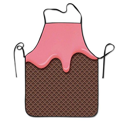 Angles Aprons Roze Chocolade IJs Waterdicht Bbq Schort