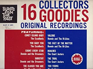 Blasts From The Past / Collectors 16 Goodies Original Recordings
