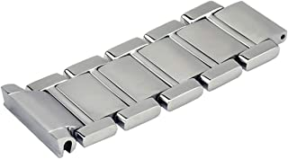 4 LINK FOR CARTIER TANK FRANCAISE 20MM WATCH BAND SOLID STAINLESS STEEL