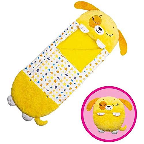 LLZZJ Happy Kids Nappers Play Pillow Fun Sleeping Saco de Dormir Plegable...